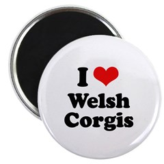 I Love Welsh Corgis 2.25