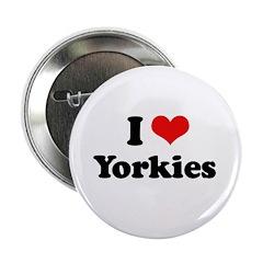 I Love Yorkies 2.25