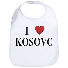 I Love Kosovo Bib