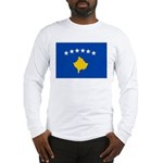 Kosovo Flag Long Sleeve T-Shirt