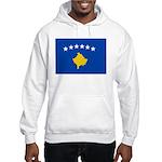 Kosovo Flag Hooded Sweatshirt