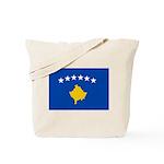Kosovo Flag Tote Bag
