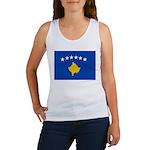 Kosovo Flag Women's Tank Top