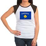 Kosovo Flag Women's Cap Sleeve T-Shirt