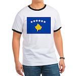 Kosovo Flag Ringer T