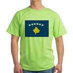 Kosovo Flag Green T-Shirt