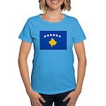 Kosovo Flag Women's Dark T-Shirt