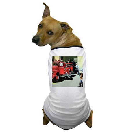 Vintage Fire Station Dog T-Shirt