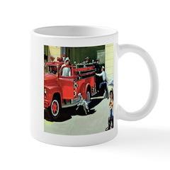 Vintage Fire Station Mug