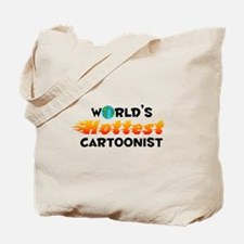 World's Hottest Carto.. (C) Tote Bag