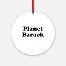 Planet Barack Ornament (Round)