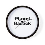 Planet Barack Wall Clock