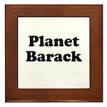 Planet Barack Framed Tile