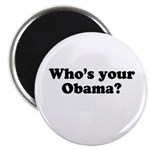 Who's your Obama? Magnet