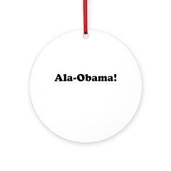 Ala-Obama Ornament (Round)