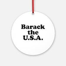 Barack the USA Ornament (Round)