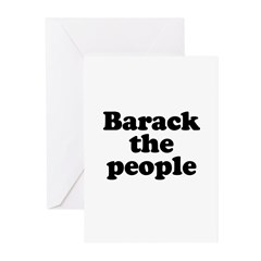 Barack the People Greeting Cards (Pk of 10)