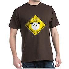 Panda Bear Crossing T-Shirt