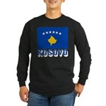 Kosovo Long Sleeve Dark T-Shirt