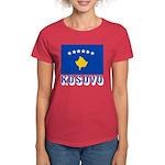 Kosovo Women's Dark T-Shirt