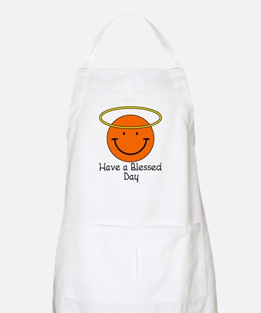 Have a Blessed Day BBQ Apron
