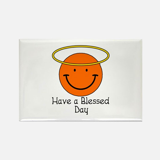 Have a Blessed Day Rectangle Magnet