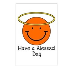 Have a Blessed Day Postcards (Package of 8)