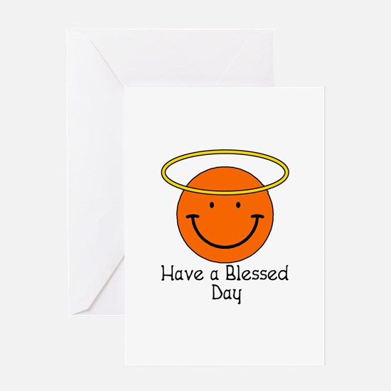Have a Blessed Day Greeting Card