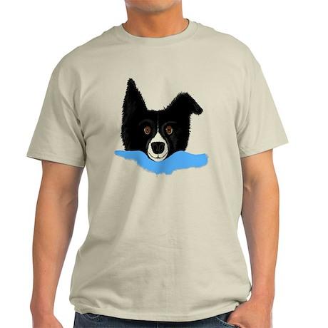 Border Collie Alarm Clock Light T-Shirt