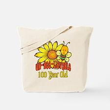 Un-Bee-Lievable 100th Tote Bag