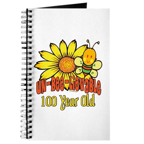Un-Bee-Lievable 100th Journal