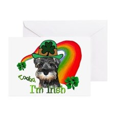 St. Pats Miniature Schnauzer Cards (Pk of 20)