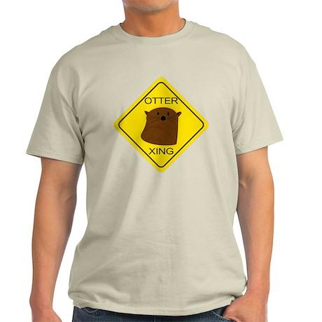 Otter Crossing Light T-Shirt