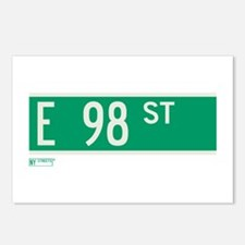 98th Street in NY Postcards (Package of 8)