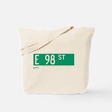 98th Street in NY Tote Bag