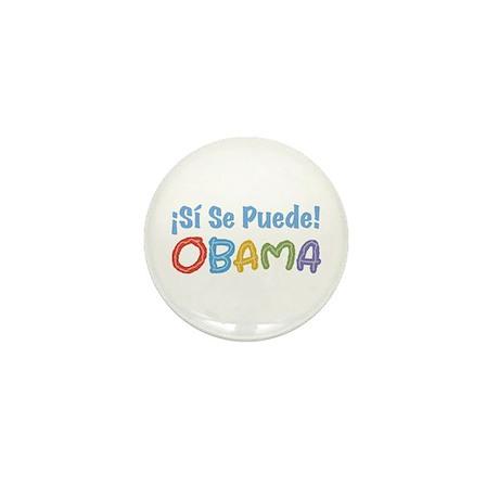 ¡Si Se Puede! Obama Mini Button