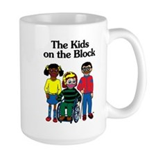 Large Kids on the Block Mug