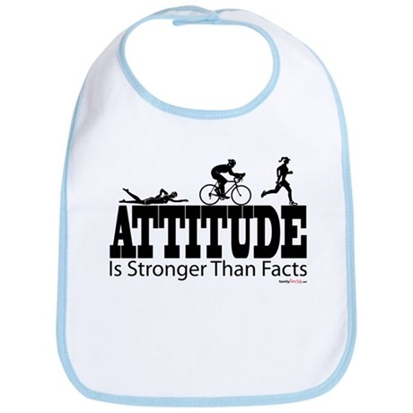 Attitude Is Stronger Triathlon Bib