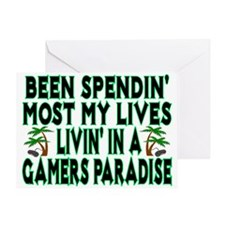 Gamers Paradise Greeting Card