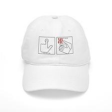 Press Button Get Bacon Baseball Cap