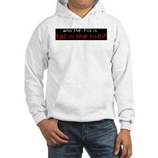 """""""who the..."""" Jumper Hoody"""