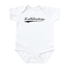 Halliburton (vintage) Infant Bodysuit