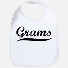 Grams (vintage) Bib