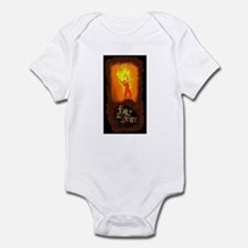 """Burning Man"" Infant Bodysuit"