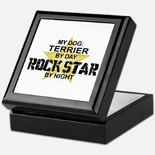 Terrier RockStar by Night Keepsake Box