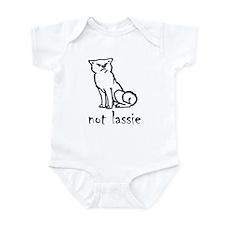 Not Lassie Infant Bodysuit