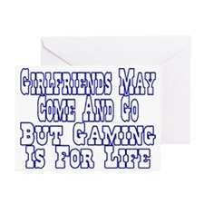 Girlfriends Come And Go Greeting Cards (Pk of 20)