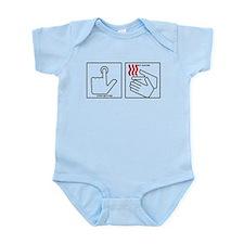 Press Button Get Bacon Infant Bodysuit