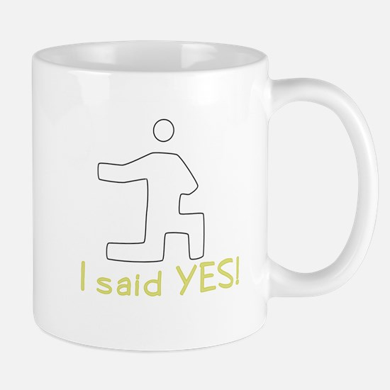 Wedding Proposal Mug