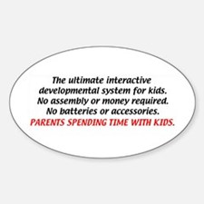Child Development System Oval Decal
